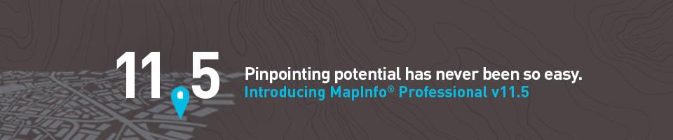 MapInfo Professional 11.5